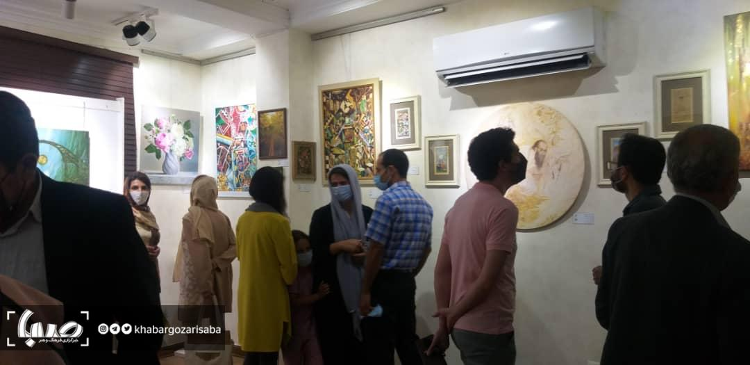 """آثار هنرمندان ایرانی و ترکی در """"دنیای من"""" به نمایش گذاشته شد"""