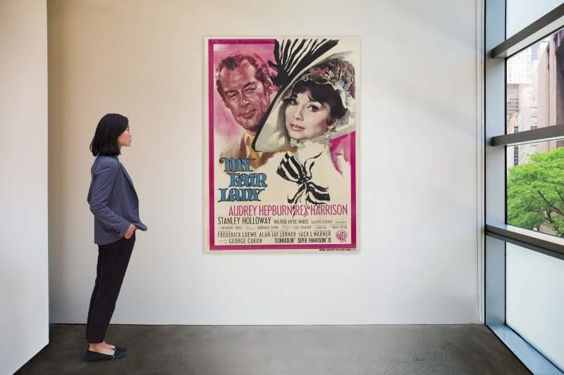 پوسترهای کمیابی از تاریخ سینما در حراج / از بانوی زیبای من به لورنس عربسکی فروخته می شود